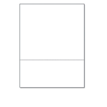"""PrintWorks® Professional Office Paper, Perforated 3-5/8"""" From Bottom, 8-1/2 x 11, 24-lb."""