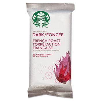 Starbucks® Coffee, French Roast, 2.5oz Bag, 18 Bags/Box