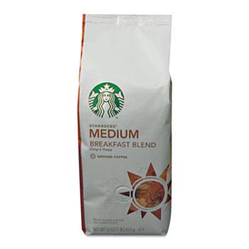 Starbucks® Coffee, Breakfast Blend, Ground, 1lb Bag