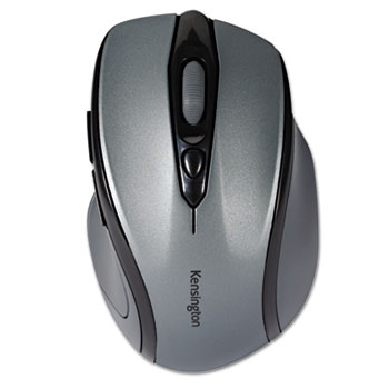 Kensington® Pro Fit Mid-Size Wireless Mouse, Right, Windows, Gray