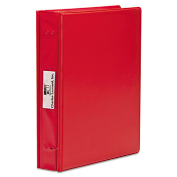 Charles Leonard, Inc. Varicap6 Expandable 1 To 6 Post Binder, 11 x 8-1/2, Red