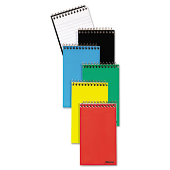 Wirebound Pocket Memo Book, Narrow Rule, 3 x 5, White, 60-Sheet, 3/Pack