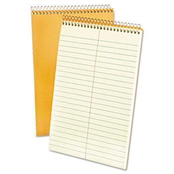 "Ampad™ Spiral Steno Book, Gregg, 6"" x 9"", 15 lb., Green Tint, 80 Sheets"