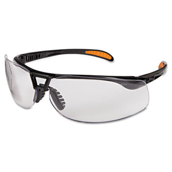 Honeywell Uvex™ Protege Safety Glasses, UV Extra AF Coated Clear Lens