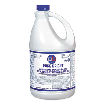 Liquid Bleach, 1gal Bottle, 3/Carton