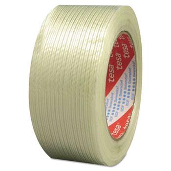 """tesa® 319 Performance Grade Filament Strapping Tape, 3/4"""" x 60yd, Fiberglass"""