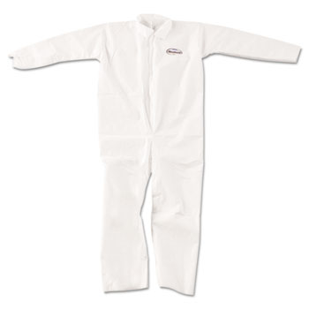 KleenGuard™ A20 Breathable Particle-Pro Coveralls, Zip, XL, White, 24/Carton