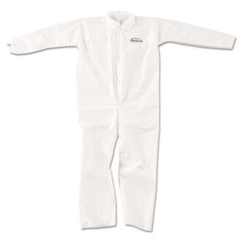 A20 Breathable Particle-Pro Coveralls, Zip, XL, White, 24/Carton