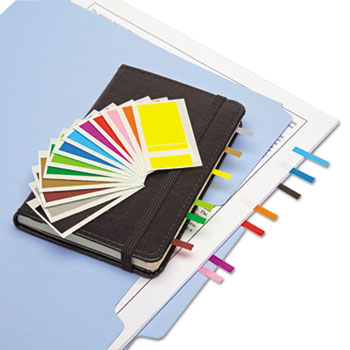 Redi-Tag® Removable Page Flags, Four Assorted Colors, 900/Color, 3600/Pack
