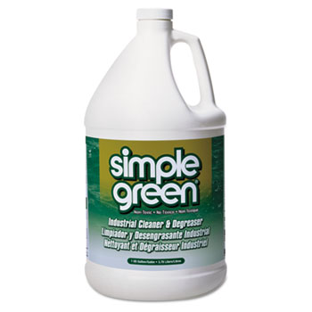 Simple Green® All-Purpose Industrial Cleaner & Degreaser, 1 gal. Bottle, Unscented, 6/CT