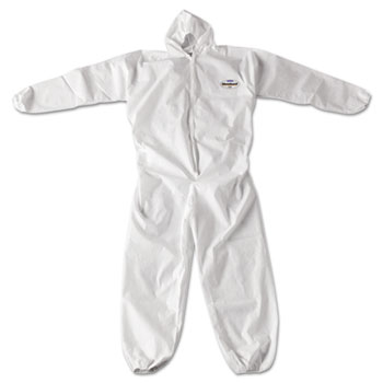 KleenGuard™ A20 Breathable Particle Protection Coveralls, Zip Closure, 2XL, White