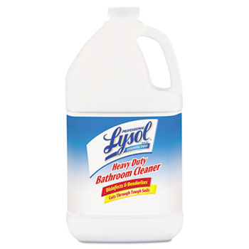 Disinfectant Heavy-Duty Bathroom Cleaner Concentrate, Lime, 1 gal