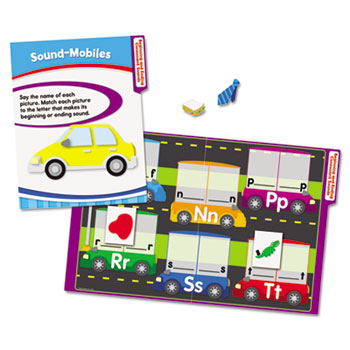 Carson-Dellosa Publishing CenterSOLUTIONS Language Arts File Folder Games, Grade 1
