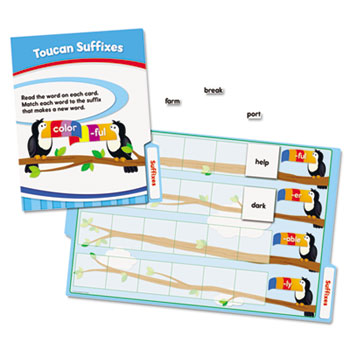 CenterSOLUTIONS Language Arts File Folder Games, Grade 2