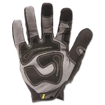 Ironclad General Utility Spandex Gloves, Black, X-Large, Pair