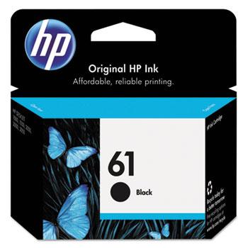 61 Ink Cartridge, Black (CH561WN)