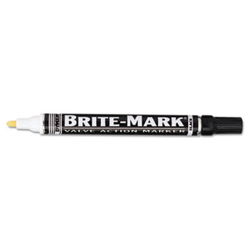 DYKEM® BRITE-MARK Layout Marking Pen, Medium Point, Black