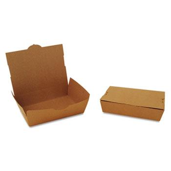 SCT® ChampPak Carryout Boxes, 2lb, 7 3/4w x 5 1/2d x 1 7/8h, Brown, 200/CT