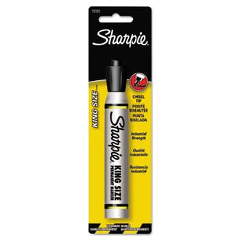Sharpie® King Size Permanent Marker, Black