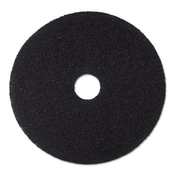 "Stripper Floor Pad 7200, 20"", Black, 5/Carton"