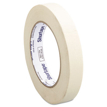 "Utility Grade Masking Tape, 3/4"" x 60yds, Crepe"