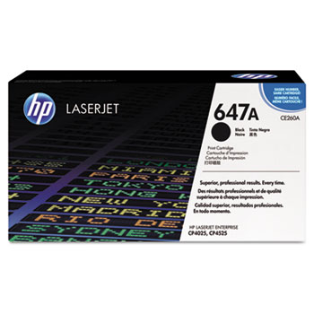 647A (CE260A) Toner Cartridge, Black