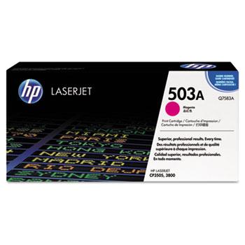 HP 503A (Q7583A) Toner Cartridge, Magenta