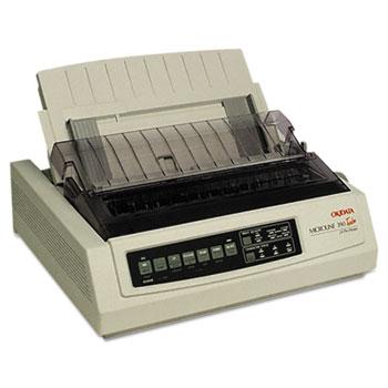 Oki® Microline 390 Turbo/n 24-Pin Dot Matrix Printer