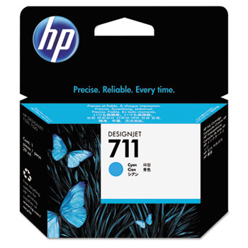 HP 711, (CZ130A) Cyan Original Ink Cartridge