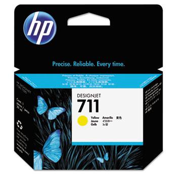 HP 711, (CZ132A) Yellow Original Ink Cartridge