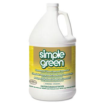 Simple Green® All-Purpose Industrial Cleaner/Degreaser, Lemon, 1 gal. Bottle, 6/CT