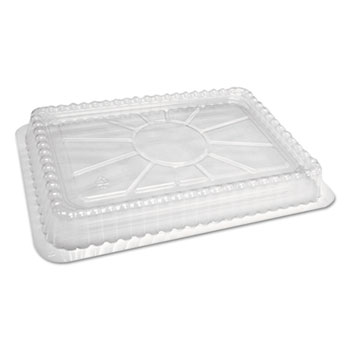 Handi-Foil of America® Clear Plastic Dome Lid, Fits Oblong Pans 2061/2062, 500/Carton