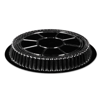 Handi-Foil of America® Clear Plastic Dome Lid, Round, Fits 9 inch Round Pan, 500/Carton