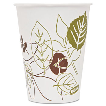 Pathways Polycoated Paper Cold Cups, 9oz, 2400/Carton