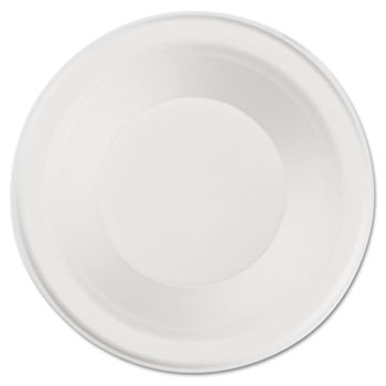 SCT® ChampWare Heavyweight Paper Dinnerware, Bowl, 12oz, White, 1000/Carton