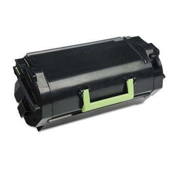 Lexmark™ 62D1X00 (LEX-621X) Extra High-Yield Toner, 45000 Page-Yield, Black