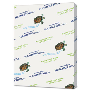 "Hammermill® Paper, 20#, Ledger, 11"" x 17"", Green, 2500 Sheets/CT"