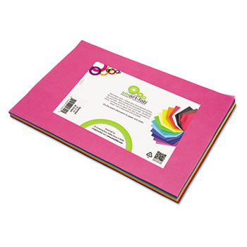"Smart Fab Disposable Fabric, 9"" x 12"" Sheets, Assorted, 45 per pack"
