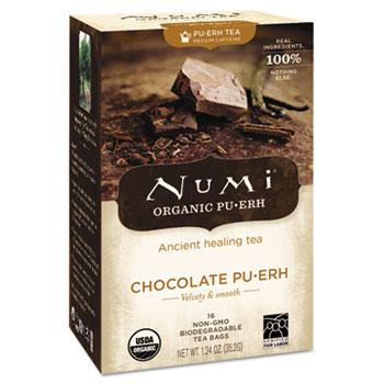 Organic Tea, Chocolate Puerh, 16/Box