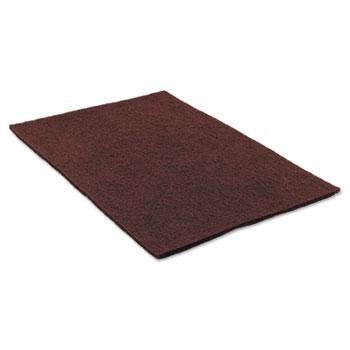 3M™ Surface Preparation Pad 14 x 20, Maroon, 10/Carton