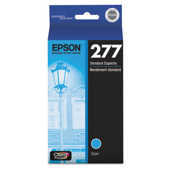 Epson® T277220 (277) Claria Ink, Cyan