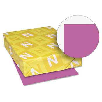 """Astrobrights® Colored Cardstock, 8 1/2"""" x 11"""", 65 lb./176 gsm., Planetary Purple™, 250/PK"""