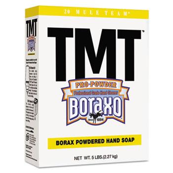 Boraxo® TMT Powdered Hand Soap, Unscented Powder, 5lb Box, 10/Carton