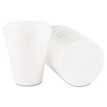 Cups, Foam, 10oz., 25/Pack