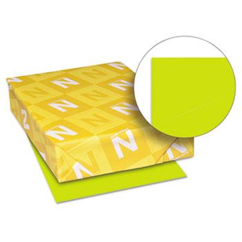 "Astrobrights® Colored Cardstock, 8 1/2"" x 11"", 65 lb./176 gsm., Terra Green™, 250/PK"