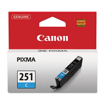 Canon® 6514B001 (CLI-251) ChromaLife100+ Ink, Cyan