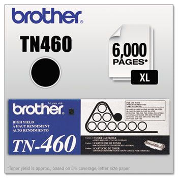 TN460 High-Yield Toner, Black