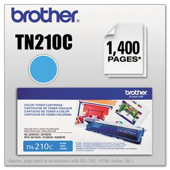 Brother TN210C Toner, Cyan