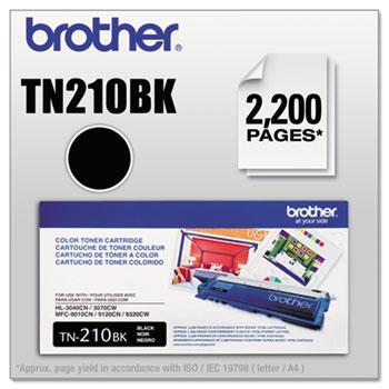 Brother TN210BK Toner, Black