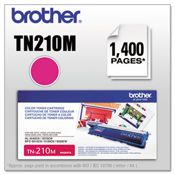 Brother TN210M Toner, Magenta